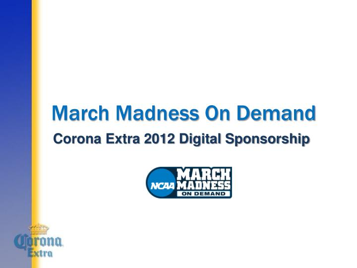 march madness on demand n.