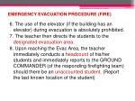 emergency evacuation procedure fire2