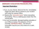 emergency evacuation procedure fire4