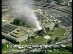 the third plane was crashed into the pentagon in washington d c