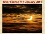 solar eclipse of 4 january 2011