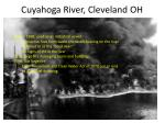 cuyahoga river cleveland oh