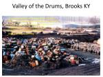 valley of the drums brooks ky