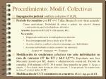 procedimiento modif colectivas