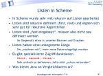 listen in scheme