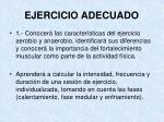 ejercicio adecuado1