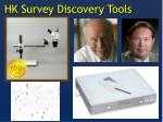 hk survey discovery tools