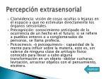 percepci n extrasensorial1