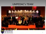 umpedac s team