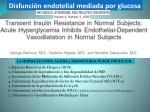disfunci n endotelial mediada por glucosa1