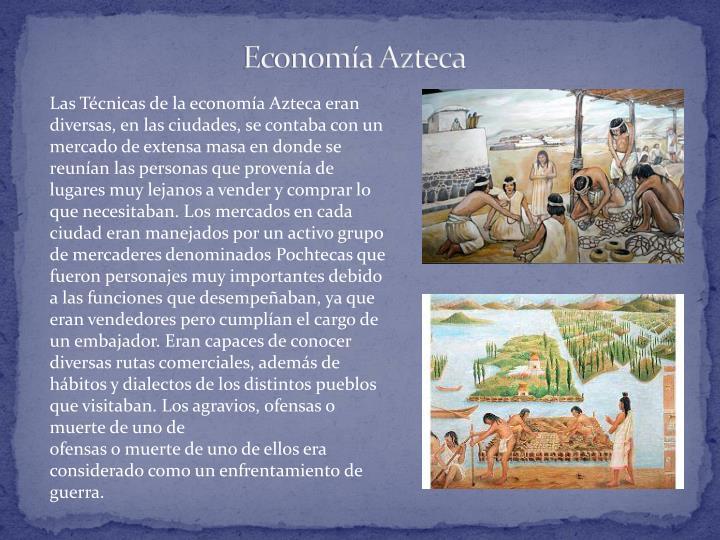 Economía Azteca