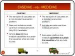 casevac vs medevac