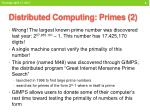 distributed computing primes 2