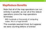 mapreduce benefits