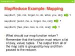 mapreduce example mapping1