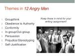themes in 12 angry men