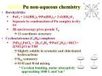 pu non aqueous chemistry1