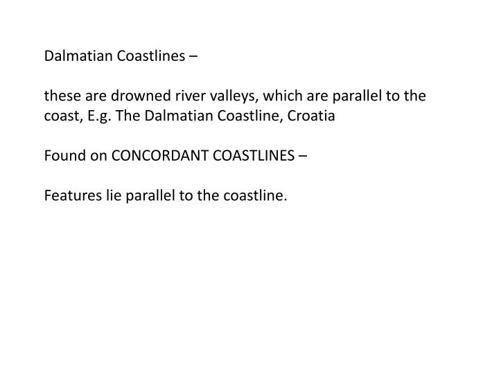 Dalmatian Coastlines –