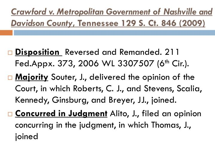 petty v metropolitan govt of nashville