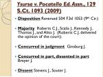 ysursa v pocatello ed assn 129 s ct 1093 2009