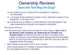 ownership reviews does the tail wag the dog3