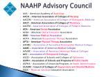 naahp advisory council