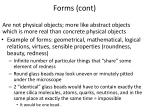 forms cont