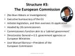 structure 3 the european commission