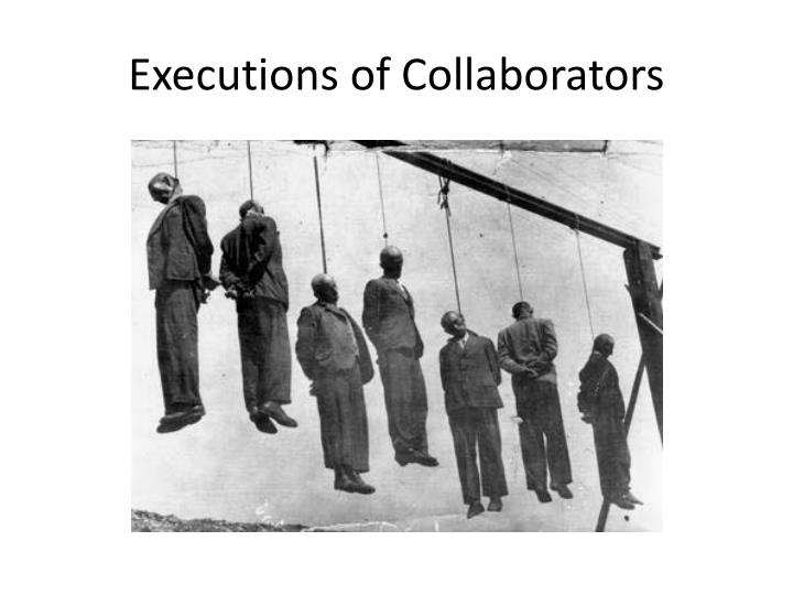 Executions of Collaborators