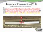 pavement preservation s13