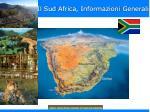 il sud africa informazioni generali