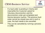 crm business service