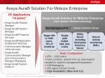 avaya aura solution for midsize enterprise