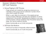 session initiation protocol sip call features3
