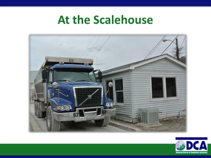 At the Scalehouse