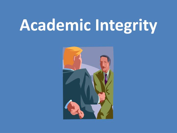 what does academic integrity mean to you Academic integrity - why does it matter 2016 - shu.