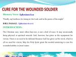 cure for the wounded soldier1