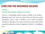 cure for the wounded soldier6