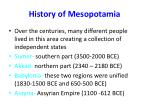 history of mesopotamia1