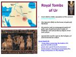 royal tombs of ur