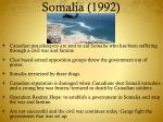 somalia 1992