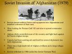 soviet invasion of afghanistan 1979