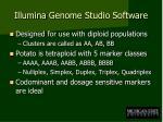 illumina genome studio software1