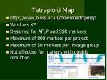 tetraploid map