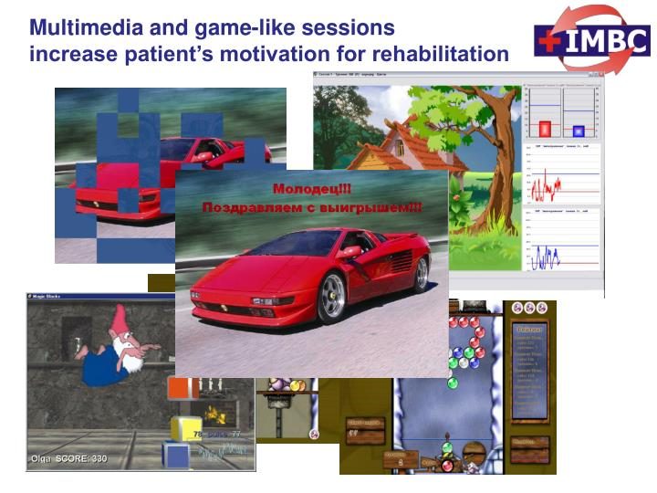 Multimedia and game-like sessions