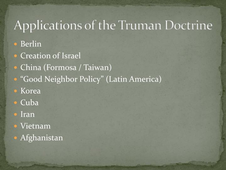 truman and the creation of israel My israeli-palestinian conflict class project on truman's decision to support the creation of the state of israel it was my first attempt to do a documentary type video so the vocal audio isn't.