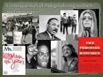 consequences of marginalizing women and minorities