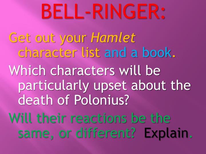 BELL-RINGER: