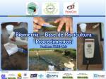 biometria base de piscicultura procedimentos presidente m dici unir