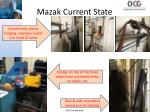 mazak current state